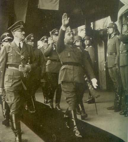 the death of democracy in the rule of general franco in spain